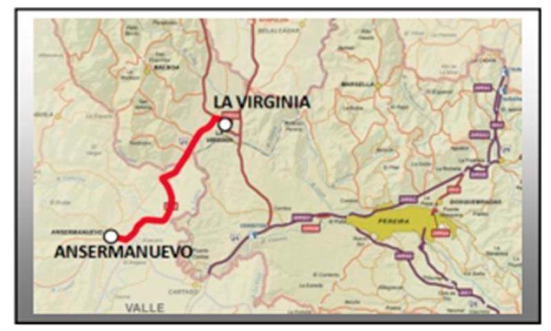 Mejoramiento de la Vía Ansermanuevo – La Virginia.
