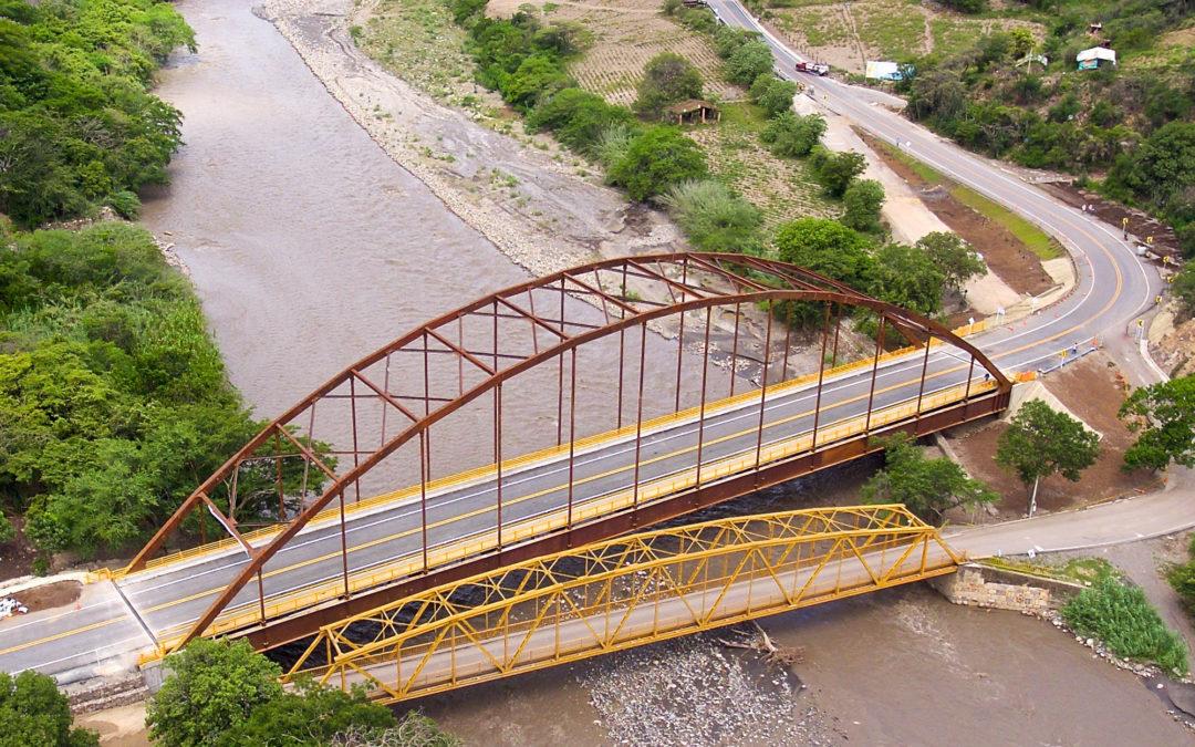 """Construcción del puente vehicular """"La Palmera"""" – Boyacá"""