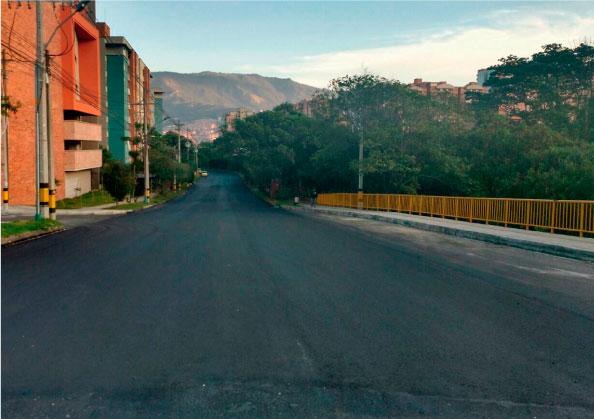 Mejoramiento de vías en el Valle de Aburrá – Antioquia