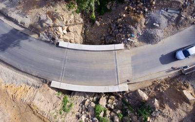Construcción de la vía de acceso al municipio de Gramalote – Norte de Santander