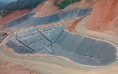"""Construcción del Vaso Altair II en el Relleno Sanitario """"La Pradera"""", Donmatías – Antioquia"""